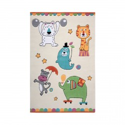 Tapis Little Artists beige
