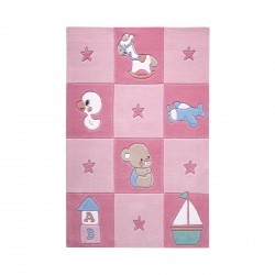 Tapis Newborn rose