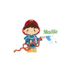 Sticker petit pompier