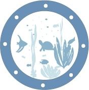 Sticker hublot Poisson