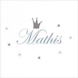 Sticker prénom prince Mathis