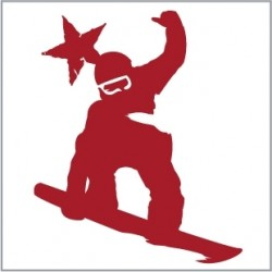 Sticker Snowboard