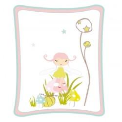 Sticker tableau - La Fée Champignon