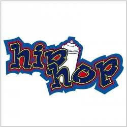 Sticker Tag Hip Hop