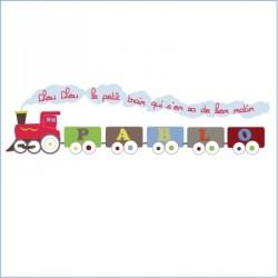 Stickers ABCédaire Petit train