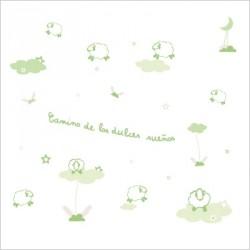 Stickers Allée des beaux rêves vert