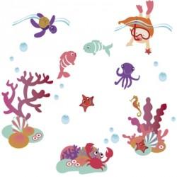 Stickers aquatiques filles
