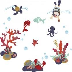 Stickers aquatiques garçons