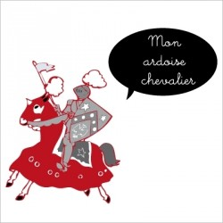 Stickers Ardoise chevalier