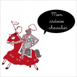 Stickers Ardoise chevalier