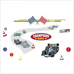 Stickers Circuit formule 1
