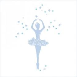 Stickers Danseuse Bleue