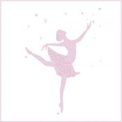 Stickers Danseuse Etoile Grand format