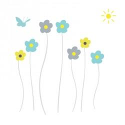 Stickers Fleurs de printemps