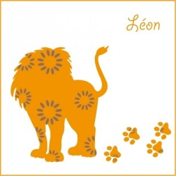 Stickers Léon le lion