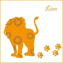 Stickers Léon le lion