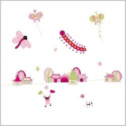 Stickers La danse des papillons - Décor adhésif 1