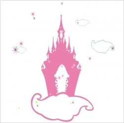 Stickers le château enchanté