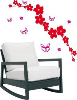 Stickers Le jardin aux papillons - Décor 2