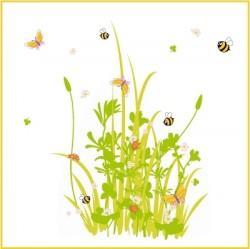 Stickers Les abeilles de printemps géant