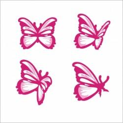 Stickers Les grands papillons