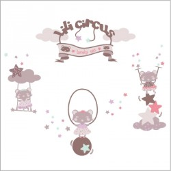 Stickers Lili Circus