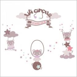 Stickers Lili Circus