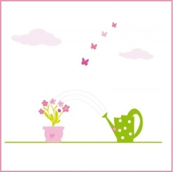 Stickers Mon petit jardin