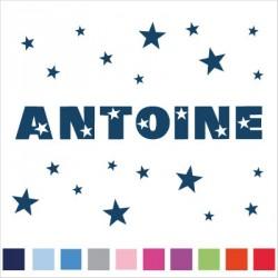 Stickers prénom ANTOINE