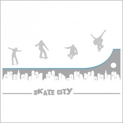 Stickers Skate City