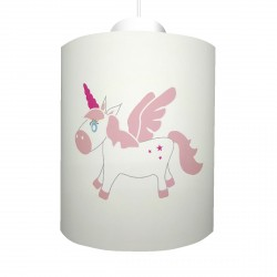 Suspension bébé licorne personnalisable