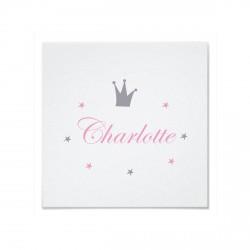Tableau personnalisable prince charlotte