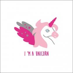Tableau I'm a unicorn personnalisable