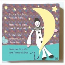Tableau Au clair de la lune