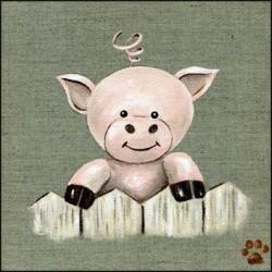 Tableau petit cochon