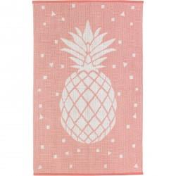 Tapis ananas Frida en coton