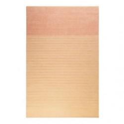 Tapis rayé design Waves Kelim orange