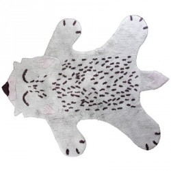 Tapis Little fox en coton
