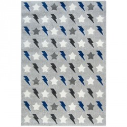 Tapis Bolt bleu