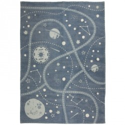 Tapis Little Galaxy en coton
