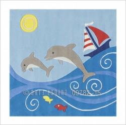 Tapis dauphins Arte Espina