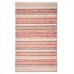Tapis de bain antidérapant Cool Stripes lignes multico beige