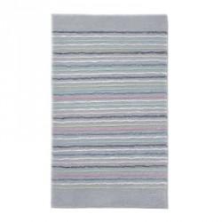 Tapis de bain antidérapant Cool Stripes lignes multico gris