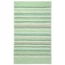 Tapis de bain antidérapant Cool Stripes lignes multico vert anis