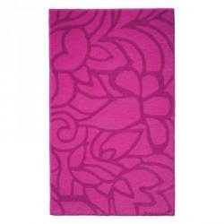 Tapis de bain antidérapant Flower Shower rose fuchsia