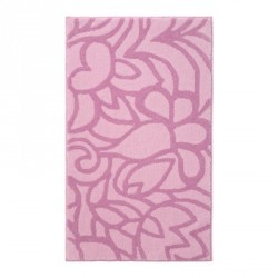 Tapis de bain antidérapant Flower Shower rose pâle