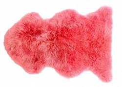 Tapis Doucheka rose peau de mouton