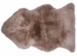 Tapis Doucheka taupe peau de mouton