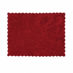 Tapis Lisa Rouge