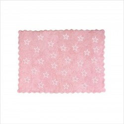Tapis Paris rose